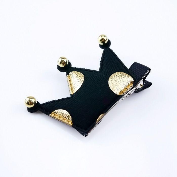 韓國製髮夾-俏皮皇冠