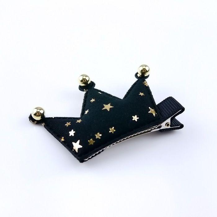 韓國製髮夾-星星皇冠