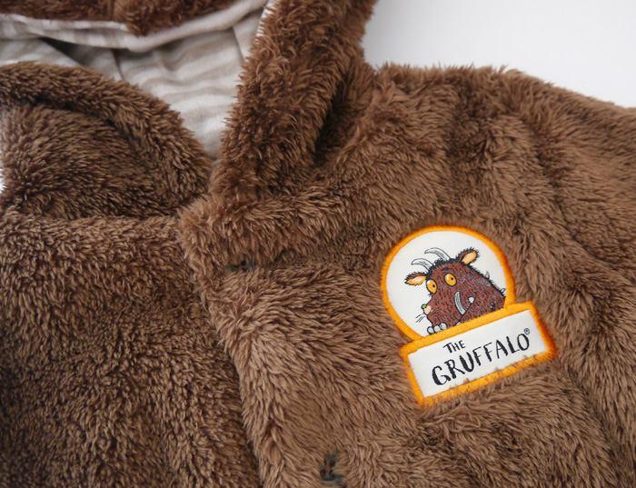【特惠】英國暢銷繪本THE GRUFFALO連帽絨毛外套